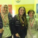 Ladies Intermediate Foil: 1st GILMOUR Catriona	FINCHLEY FOIL FENCING CLUB 2nd LUPINETTI Catiuscha THE CITY FENCING CLUB 3rd YAKOUB Mennatallah FINCHLEY FOIL FENCING CLUB