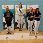 Womens Foil L-R Cserny, Warrender (Fighting Fit), Hlavac, Sisiu