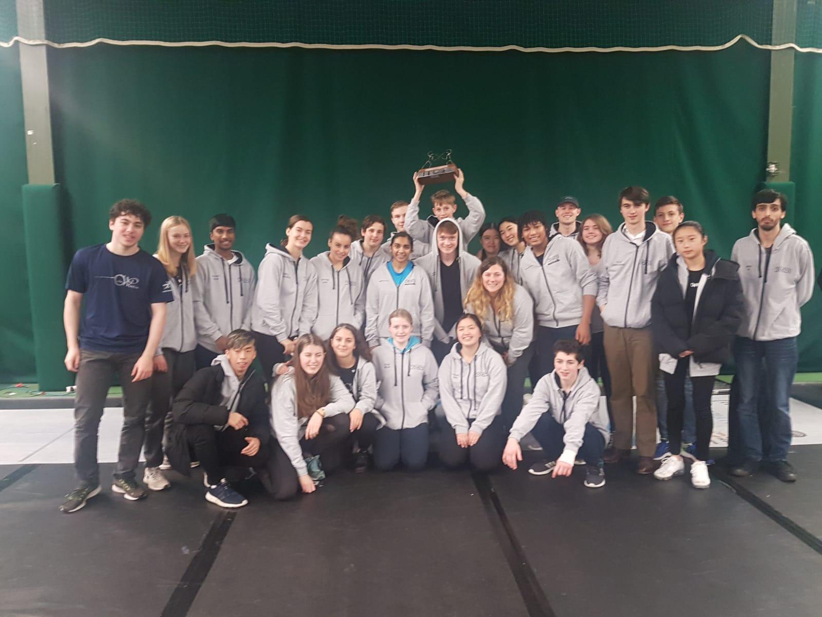 Cadet Winton London 2018 Winning Team
